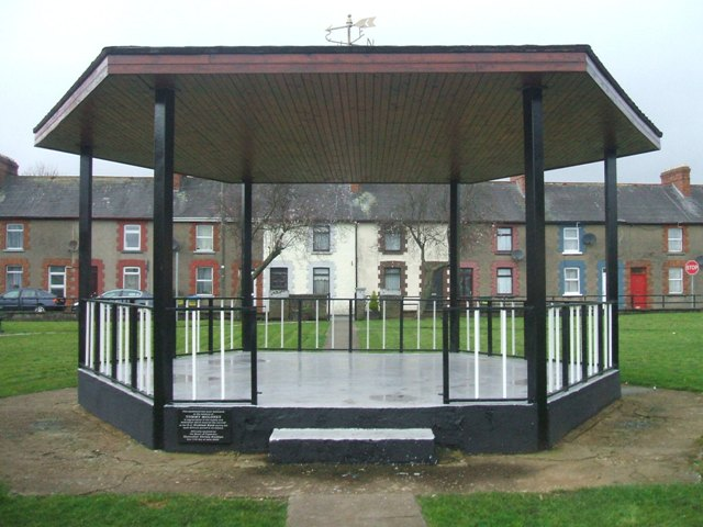Tipperary Town Bandstand: Restored by TÚS in 2103