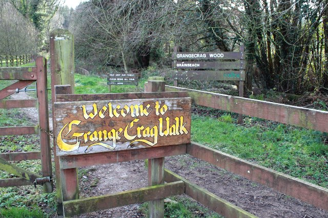 Grange Crag Looped Walk: Maintained by participants on the Rural Social Scheme