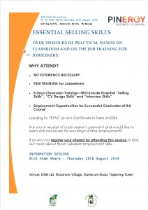 PINERGY (DSM) Selling Skills Training Flyer 15814 publisher