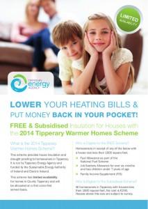 Tipperary Warmer Homes Scheme Flyer2