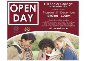 CTI Senior College Clonmel_Open Day