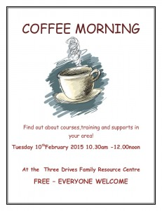 Coffee Morning 10th February 2015 -poster