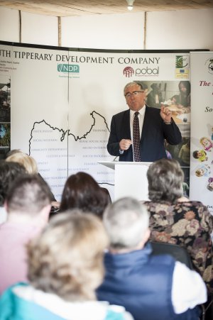 Tom Hayes TD at the launch iof the South tipperary Development Company Annual Report 2014