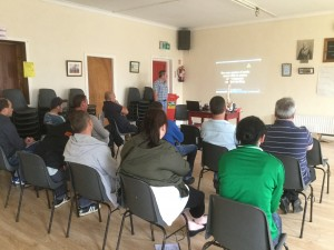 Manual Handling Training at Carrick Davins GAA Club, Carrick on Suir.