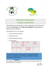 Get Ready Programme