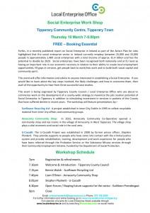 LEO Social Enterprise Workshop