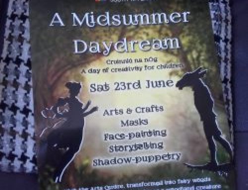 "Tus Programme assists ""Midsummer Daydream"" at South Tipperary Arts Centre"